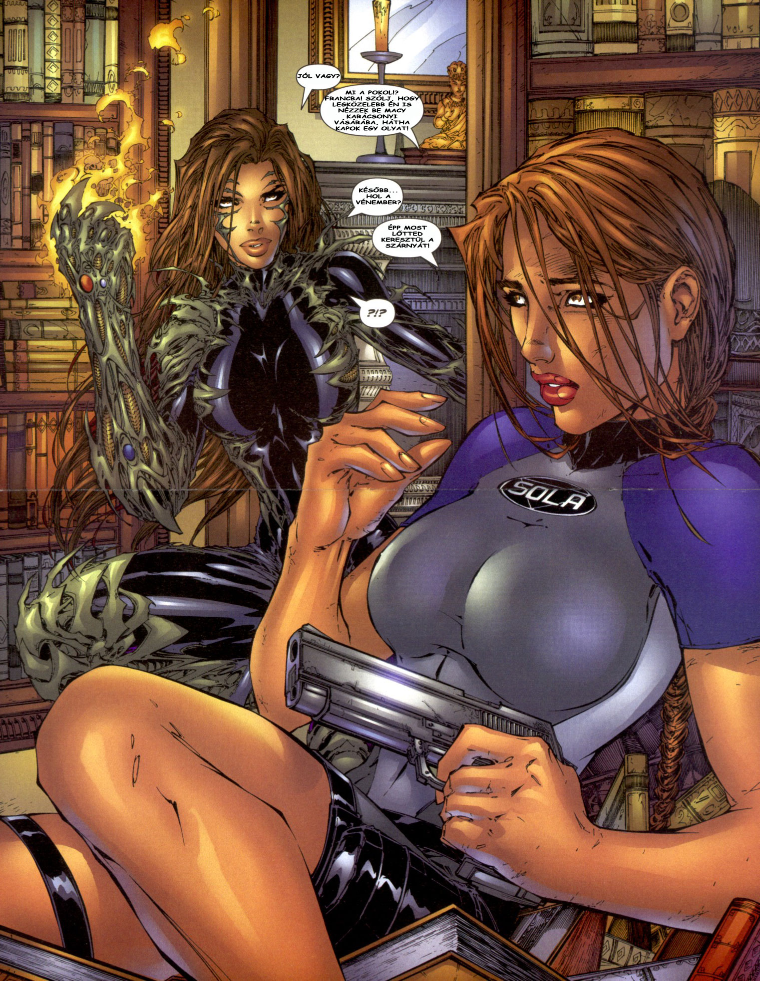 Erotic lesbian lara croft toons fucked pics
